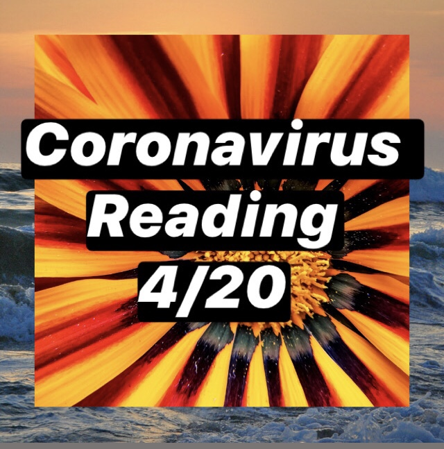 Coronavirus Reading for April 2020