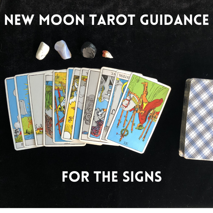 New Moon Tarot Guidance for the Signs